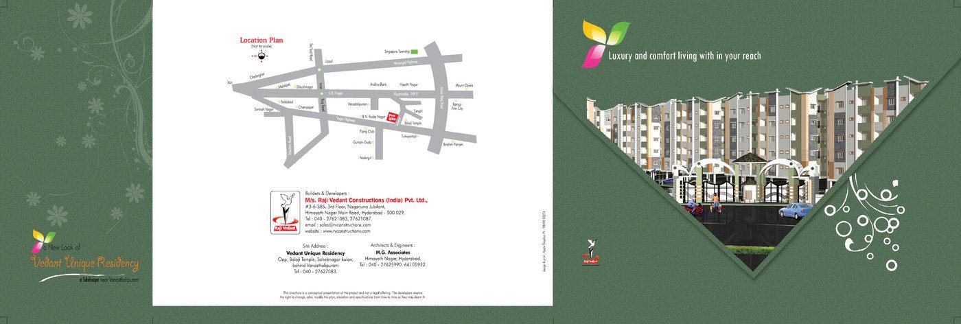 Brochures for Real Estate by Vinod Kumar Bheemanapally at