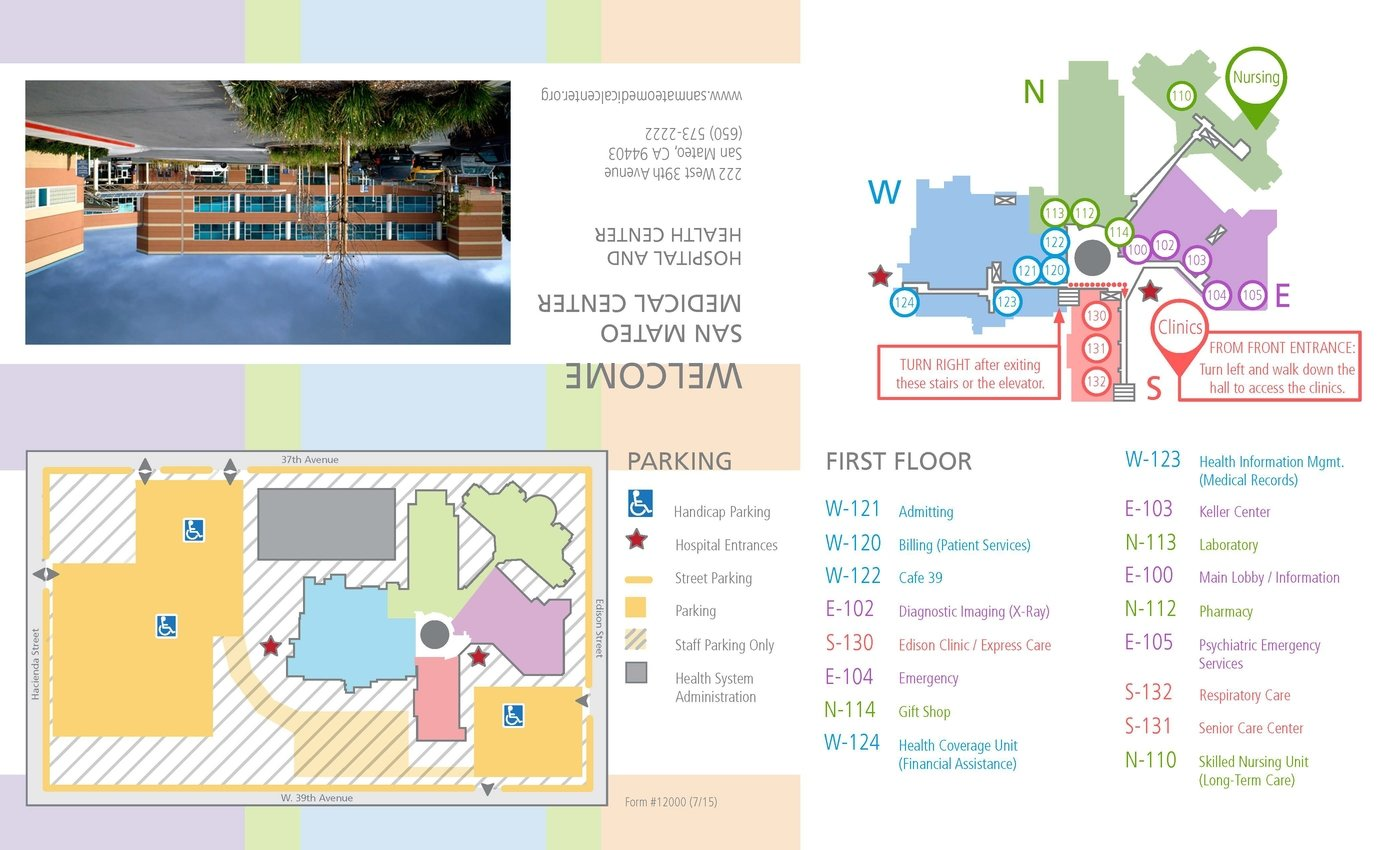 Hospital Map Design by Kate Johnson at Coroflot com