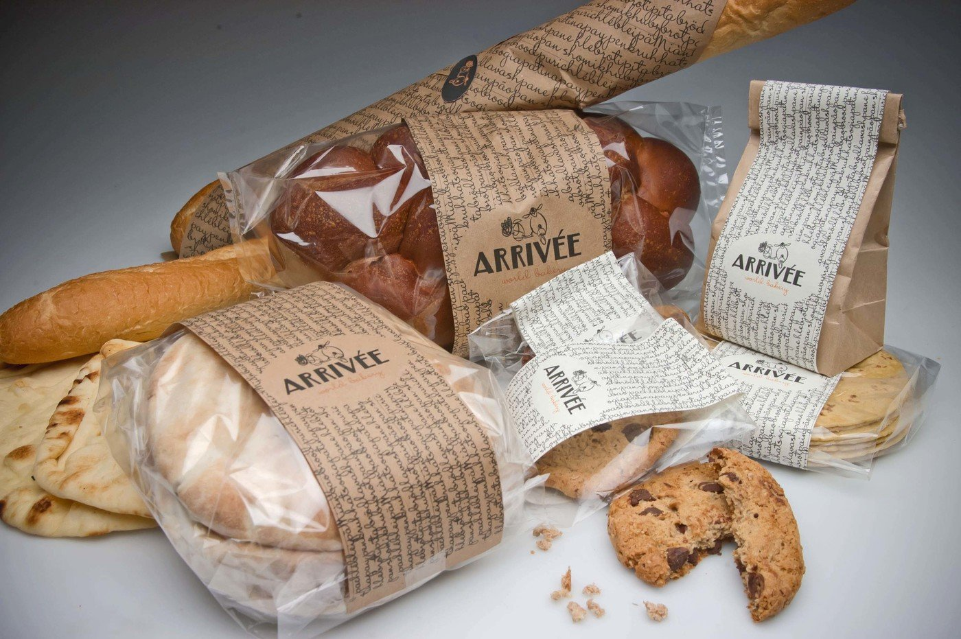 Bakery Branding And Packaging By Larisa Mamonova At