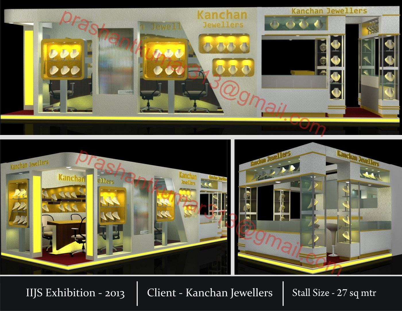 Exhibition Stall Design For Garments : Works mchi iijs garments expo gift expo by prashant