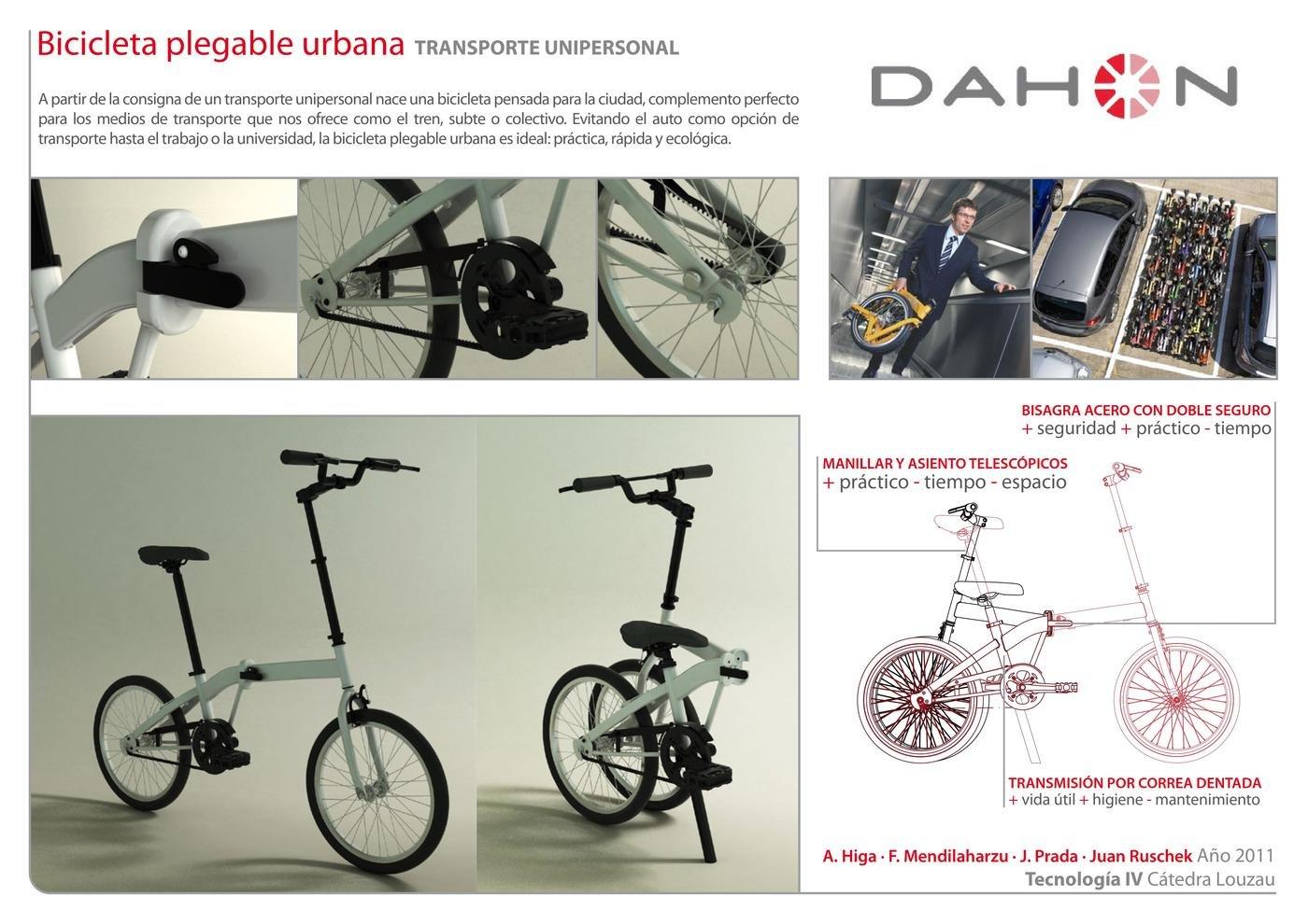 KIBA - Carbon Drive Folding Bike by Juan Ruschek at Coroflot com