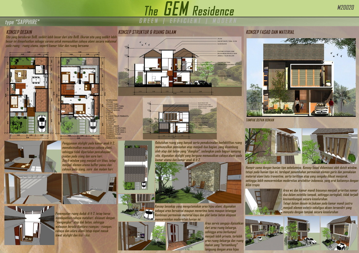 GEM Residence by Ricky Cahyadi at Coroflot.com