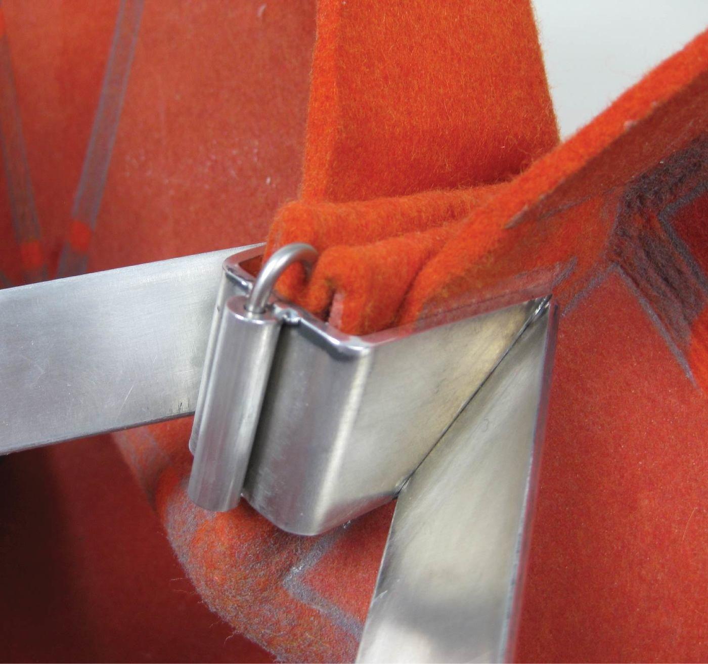 The Morgan Felt Folding Stool By Brett Mellor At Coroflot Com