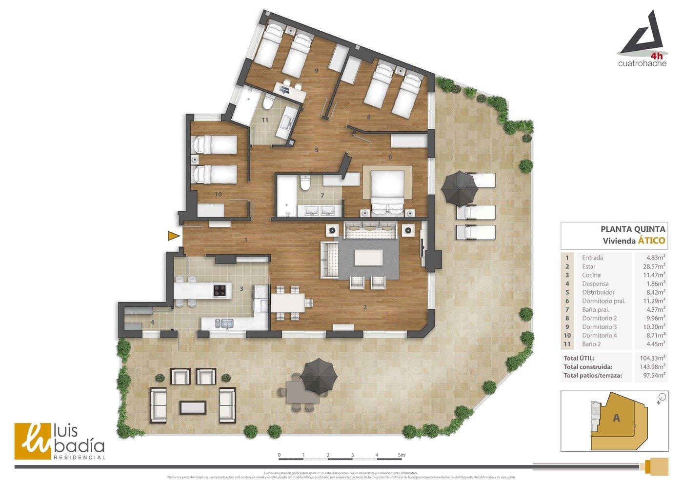 Floor Plan Rendering 36 By Alberto Talens Fernández At