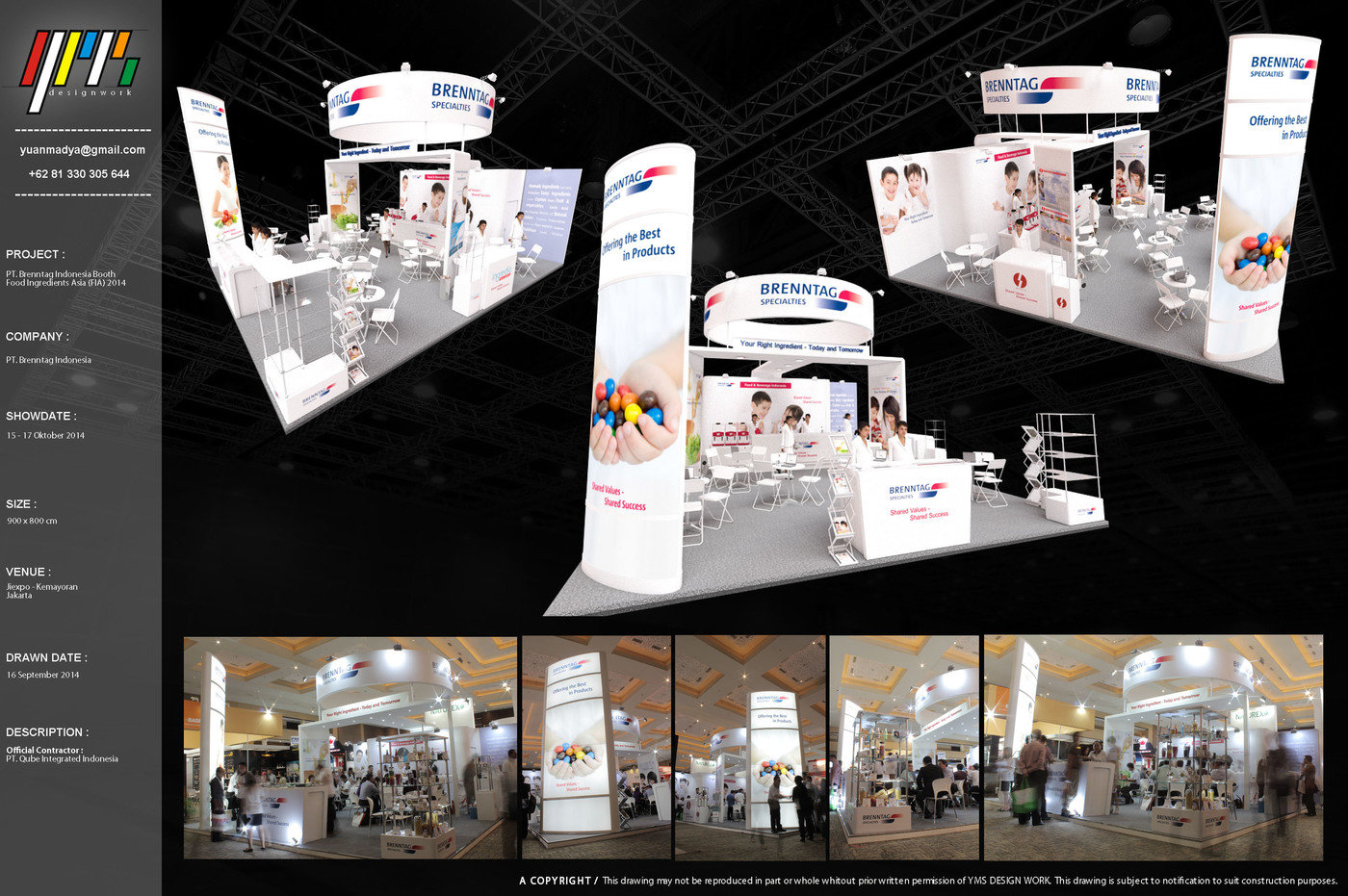 Brenntag Indonesia Exhibition Booth by Yuan Madya Saputra at