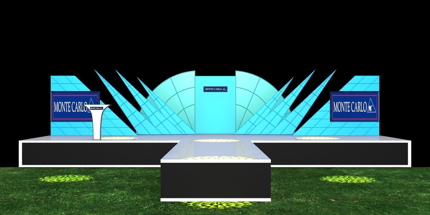Stage Design By Manoj Sharma At