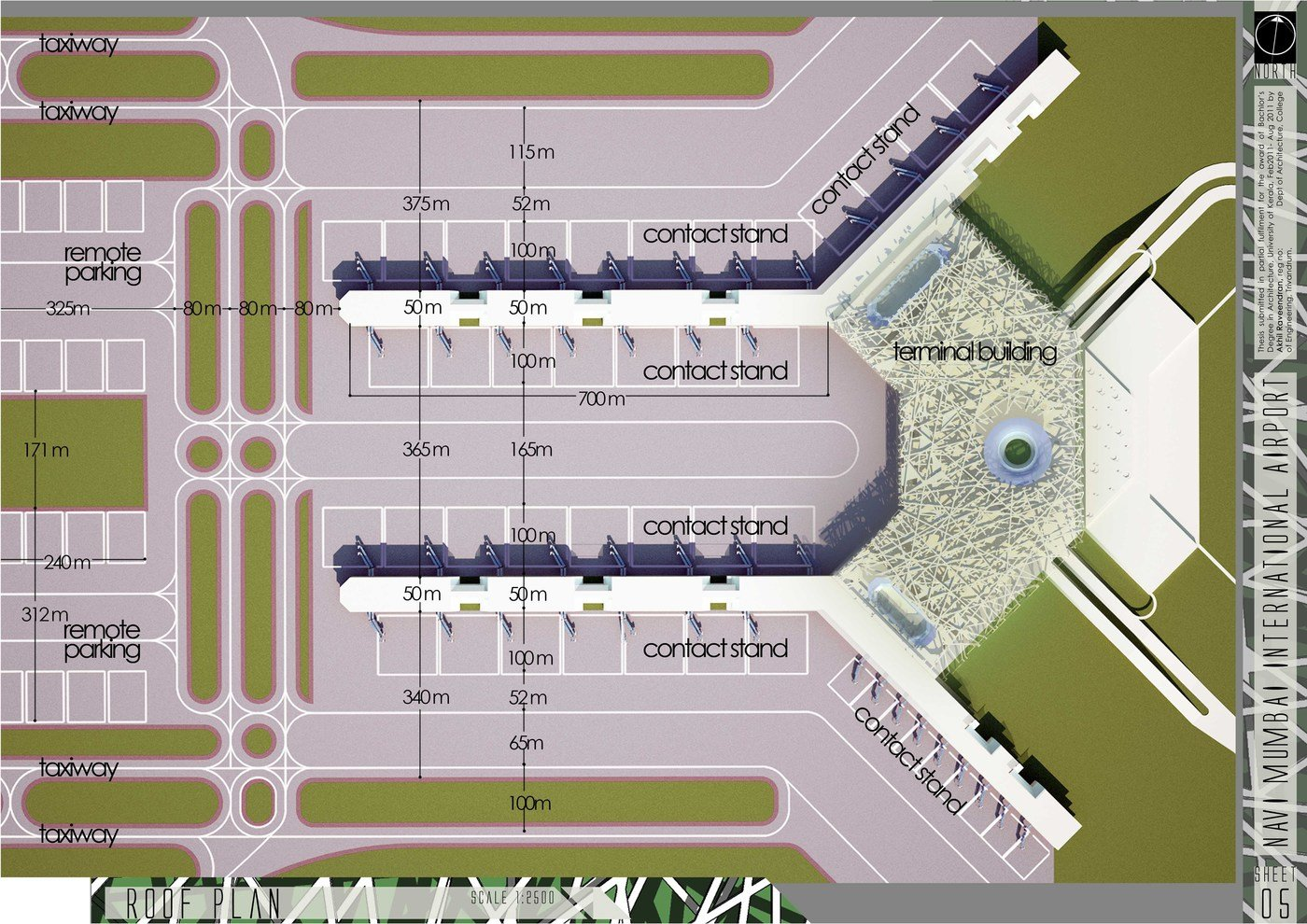 Corridor Design: Architecture Thesis:airport By Akhil Raveendran At