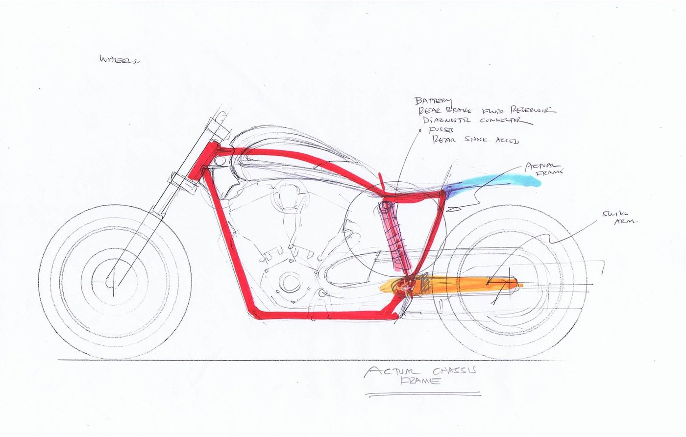 2011 Arlen Ness Victory Cafe Racer Concept By Alberto Hernandez