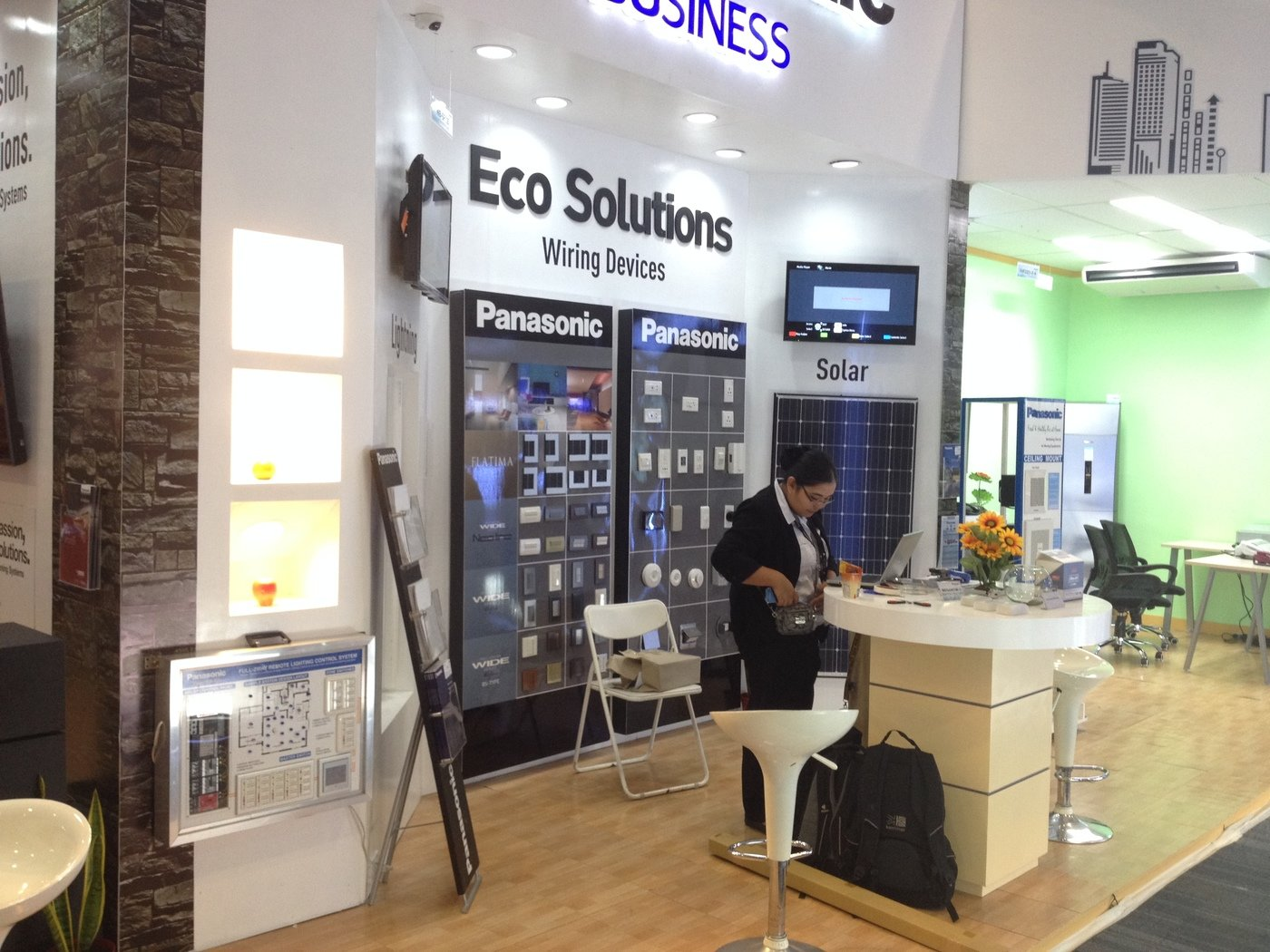 Panasonic Booth At Hvac Manila 2015 By Deane Nieva Bautista Wiring Devices Philippines