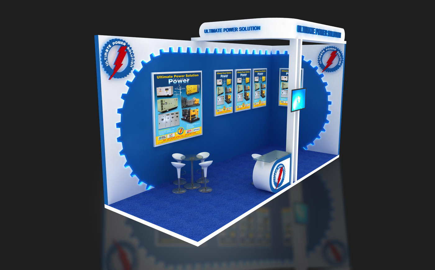 Exhibition Stand Designer Job Description : Exhibition stand designs by saleem ali at coroflot