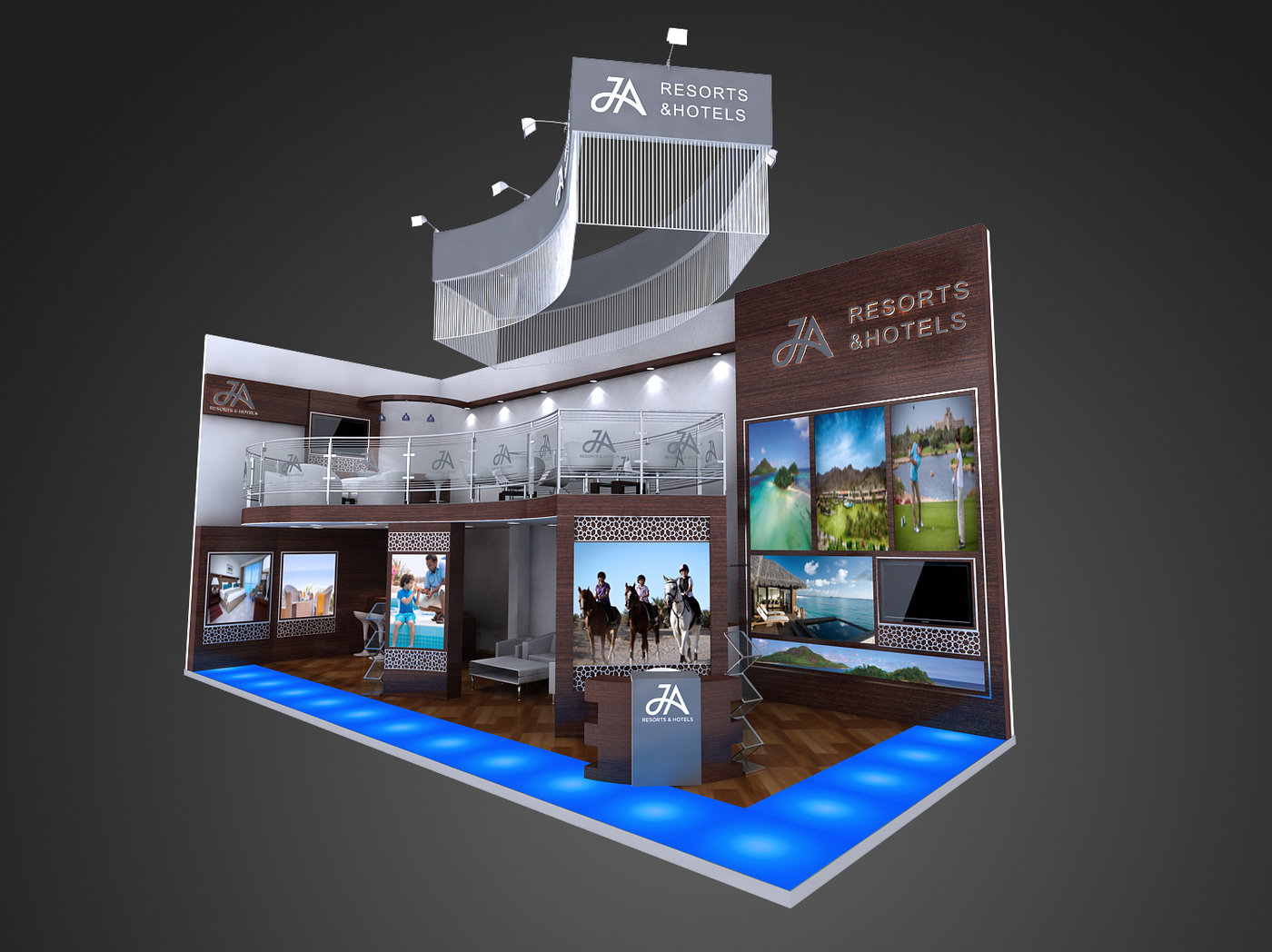 Exhibition Booth Partition : Exhibition stand designs by saleem ali at coroflot