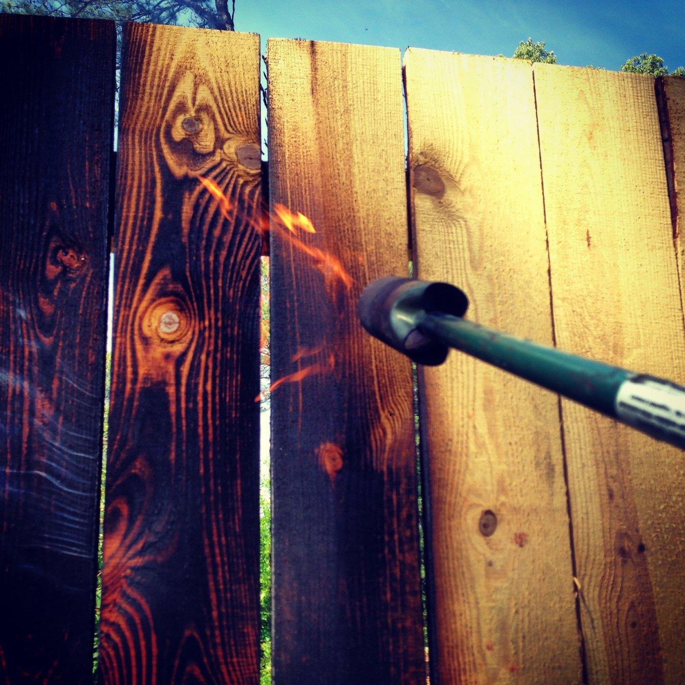 Shou Sugi Ban Fence By Andrew Drake At Coroflot Com