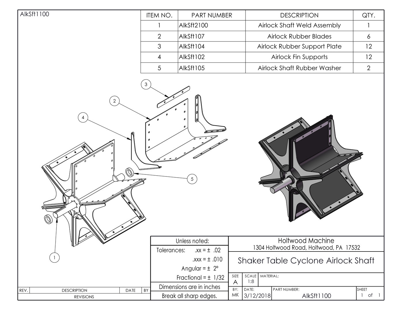 SolidWorks Designs: Parts and Assemblies by Matthew Kilareski at