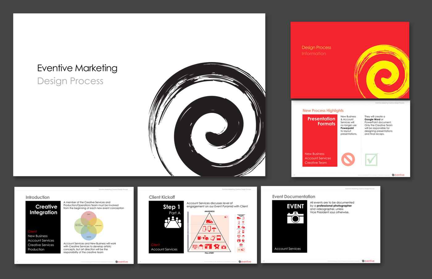 Including 26 Pg Perfect Bound Capabilities Brochure Revised Logo Case Studies Website Creative Design Workflow Presentation Corporate Collateral