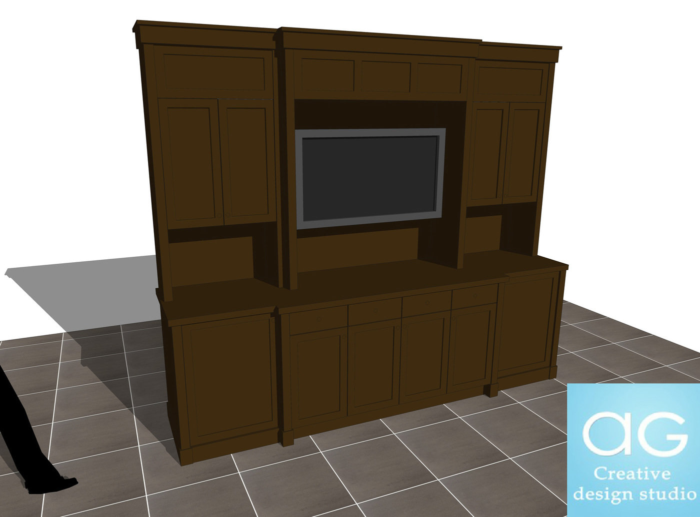 Interior Design Free SketchUp Models by AG CAD Designs at