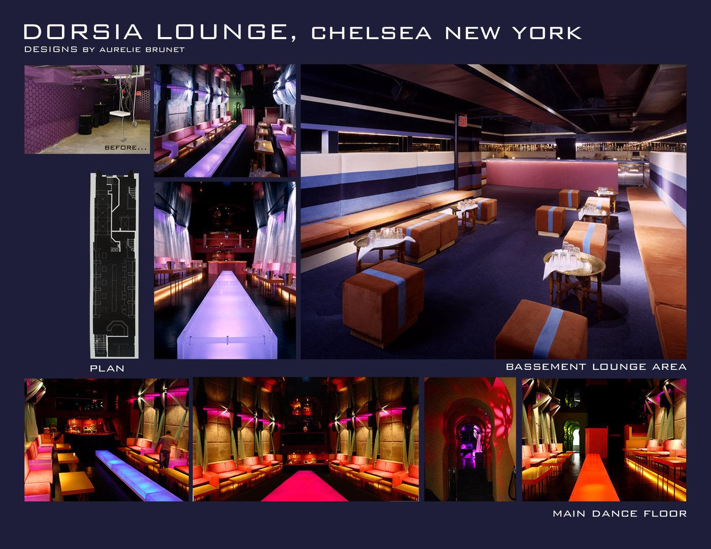 dorsia lounge nyc icrave design by aurélie brunet at coroflot com