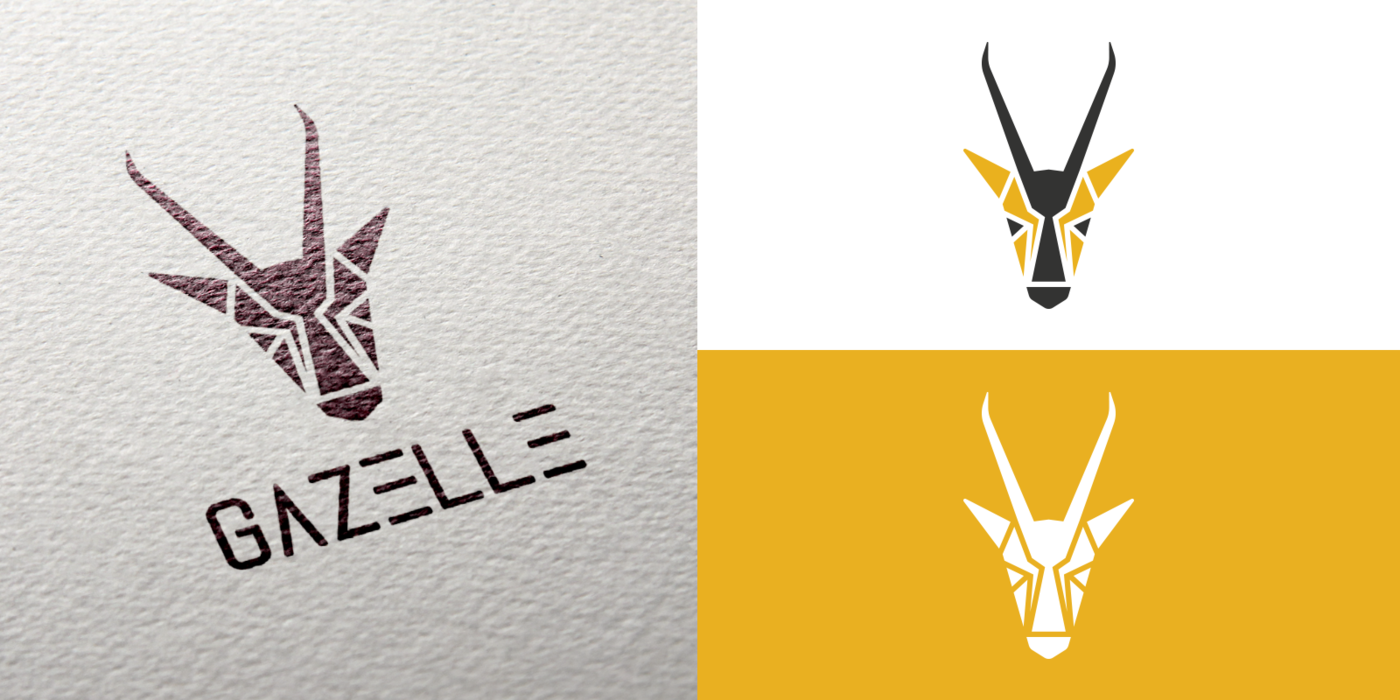 Gazelle clothing logo design by elvijs treifelds at for Design lago