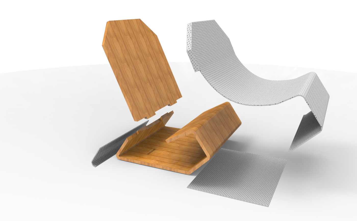 Super Folding Chair Concept By Amir Iqbal At Coroflot Com Ncnpc Chair Design For Home Ncnpcorg