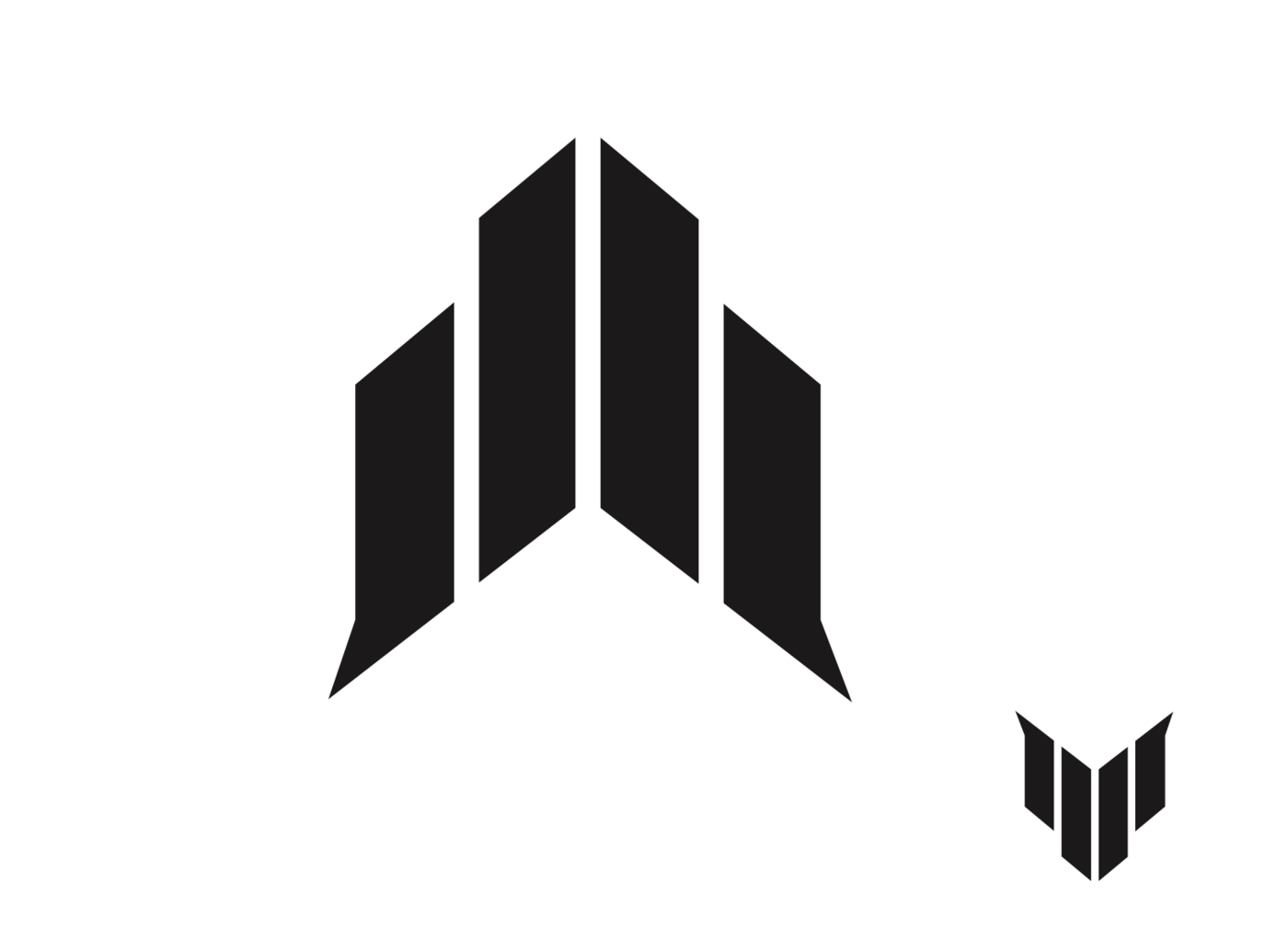 The main logo that JJ kept coming back to. He ended up wanting the bottom of  the