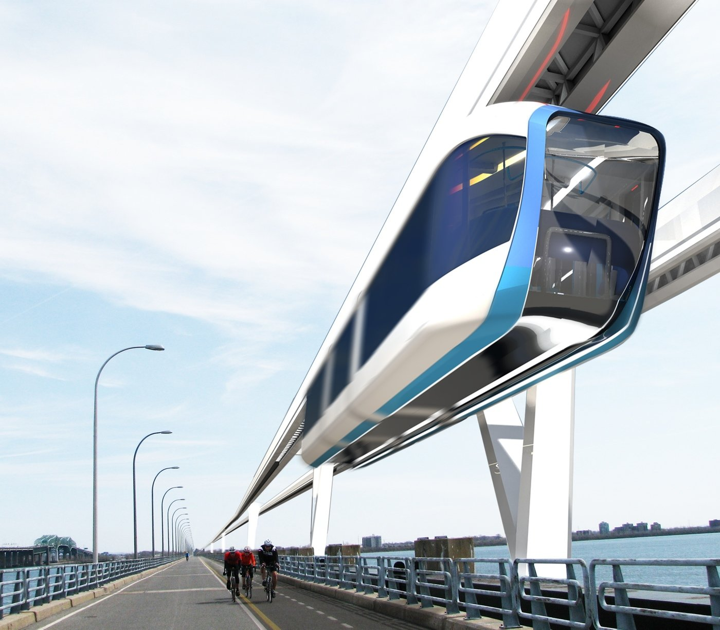 MGV Québec: The High Speed Monorail By Frederic Laurin