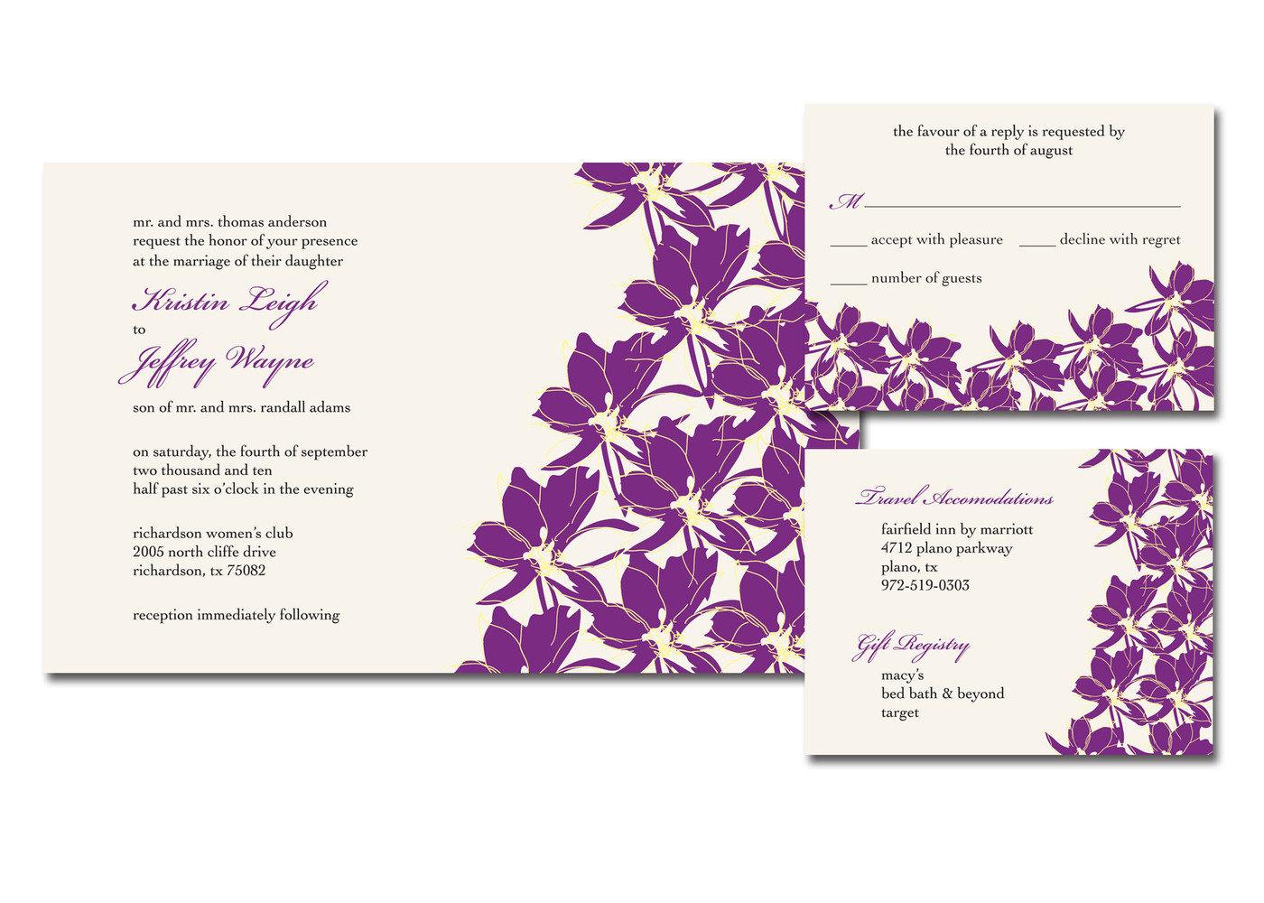 Invitations & Announcements by Kim Patton at Coroflot.com