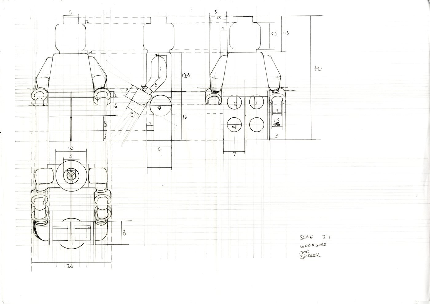 cad and technical drawing by joseph sadler at coroflot com