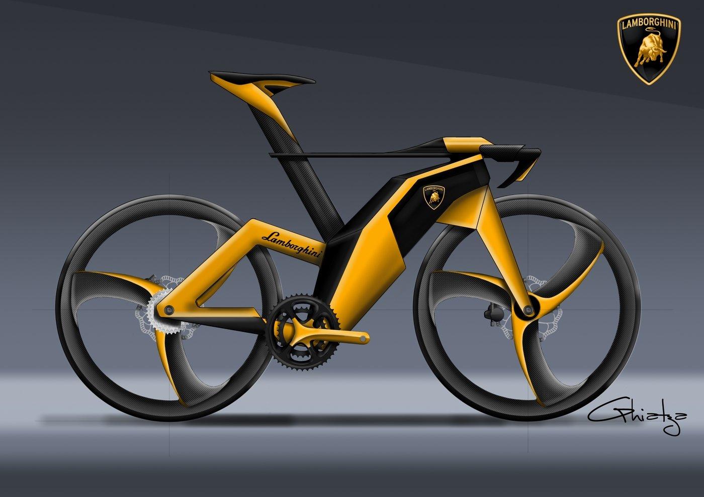 Lamborghini Concept Bike Premium By Mikael Ghiatza At Coroflot Com
