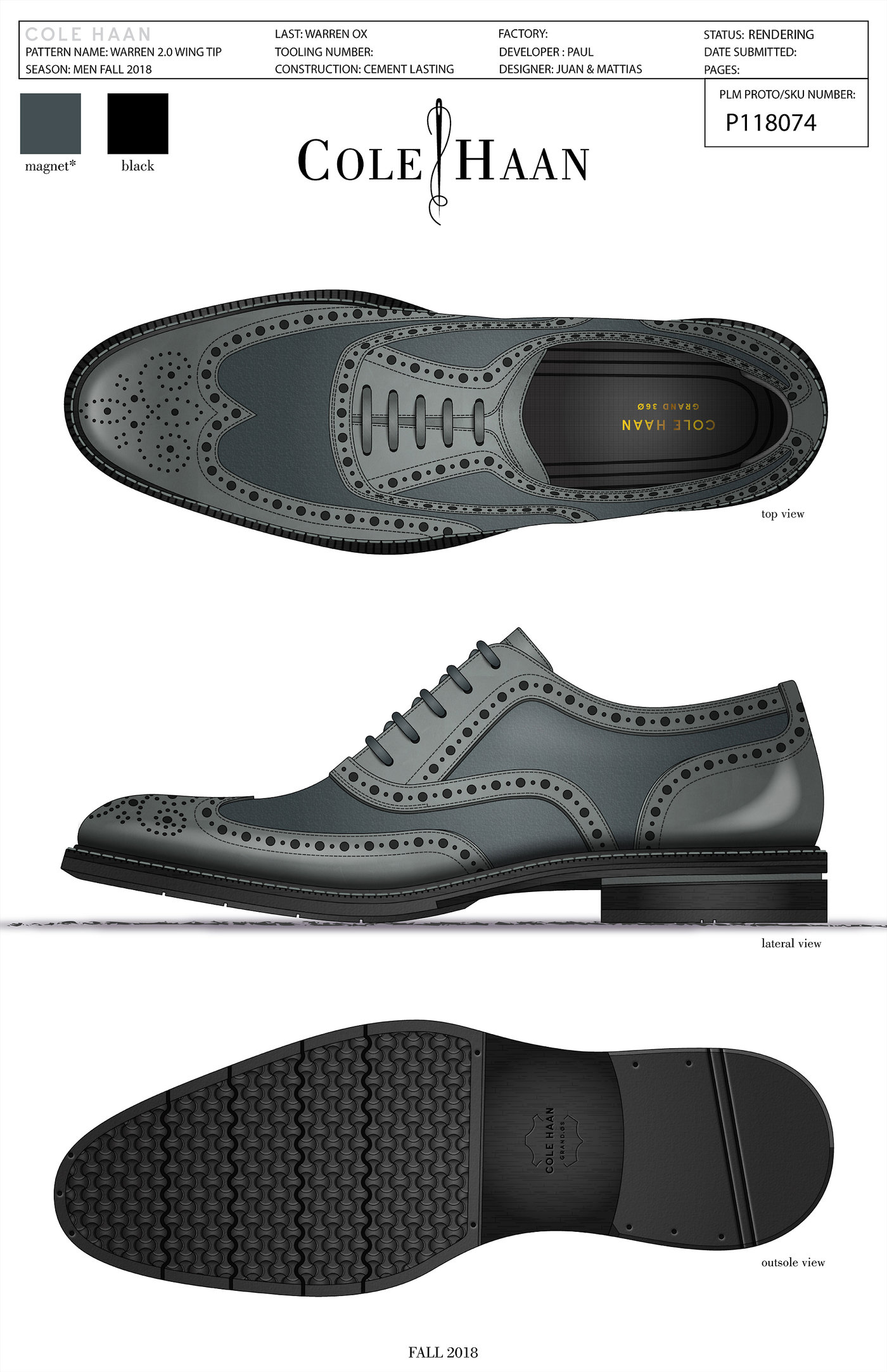 Men Dress Shoes Cole Haan Fall 2018 by