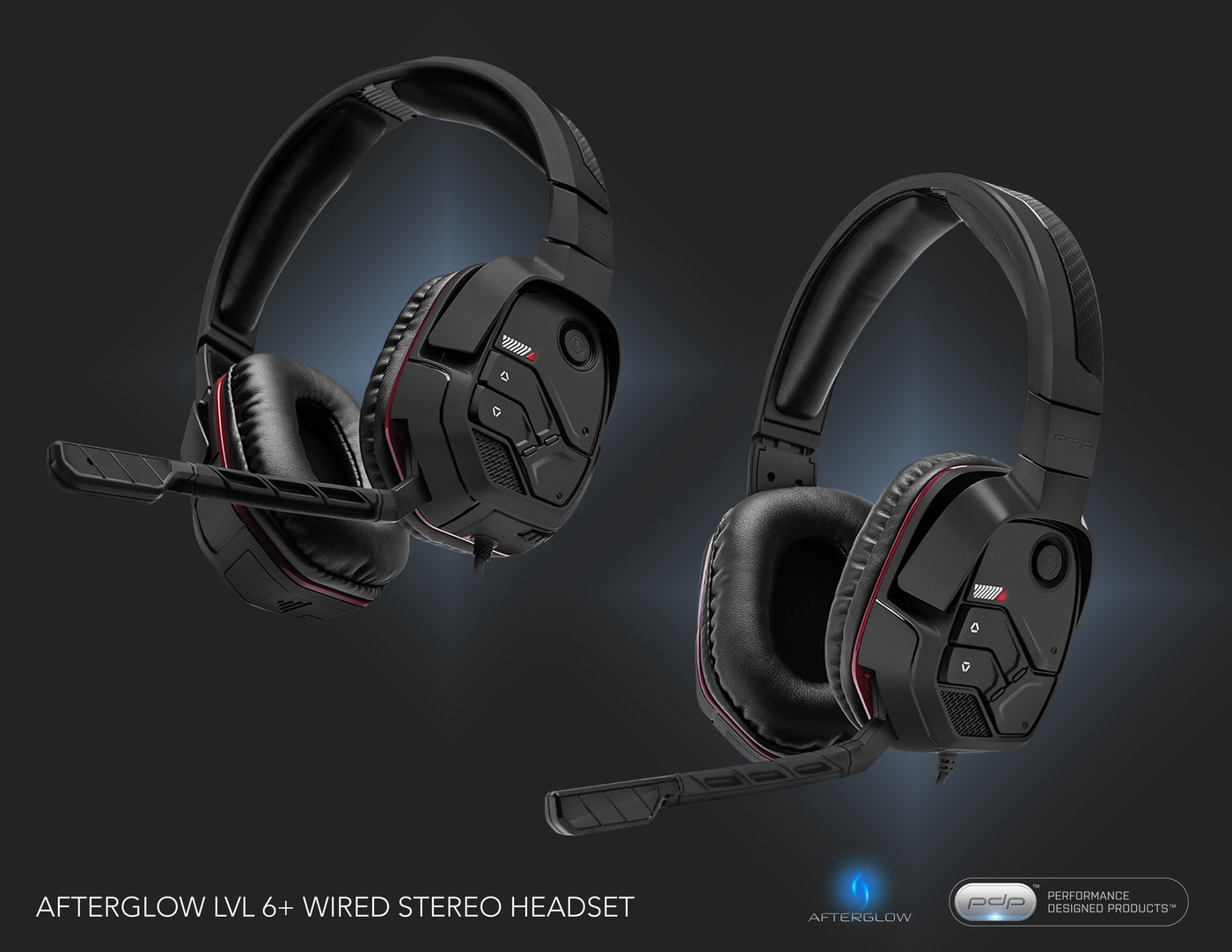 Afterglow LVL 6+ Wireless Headset by Dennis Foster at Coroflot.com