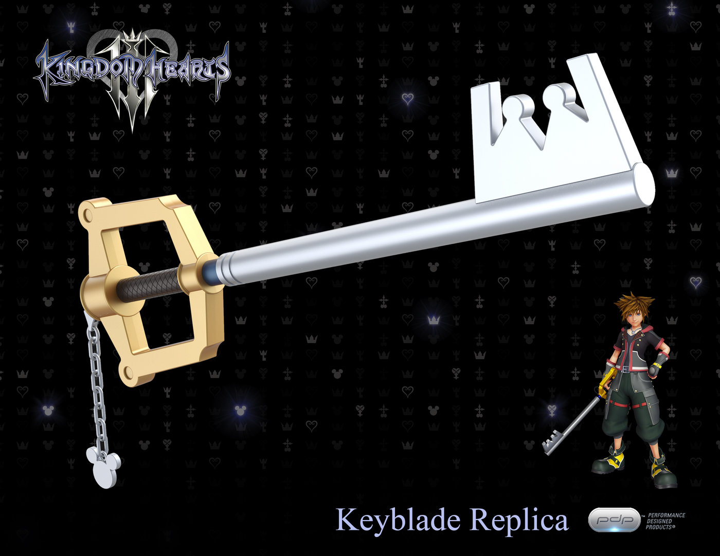 Kingdom Hearts Iii Keyblade Replica By Dennis Foster At