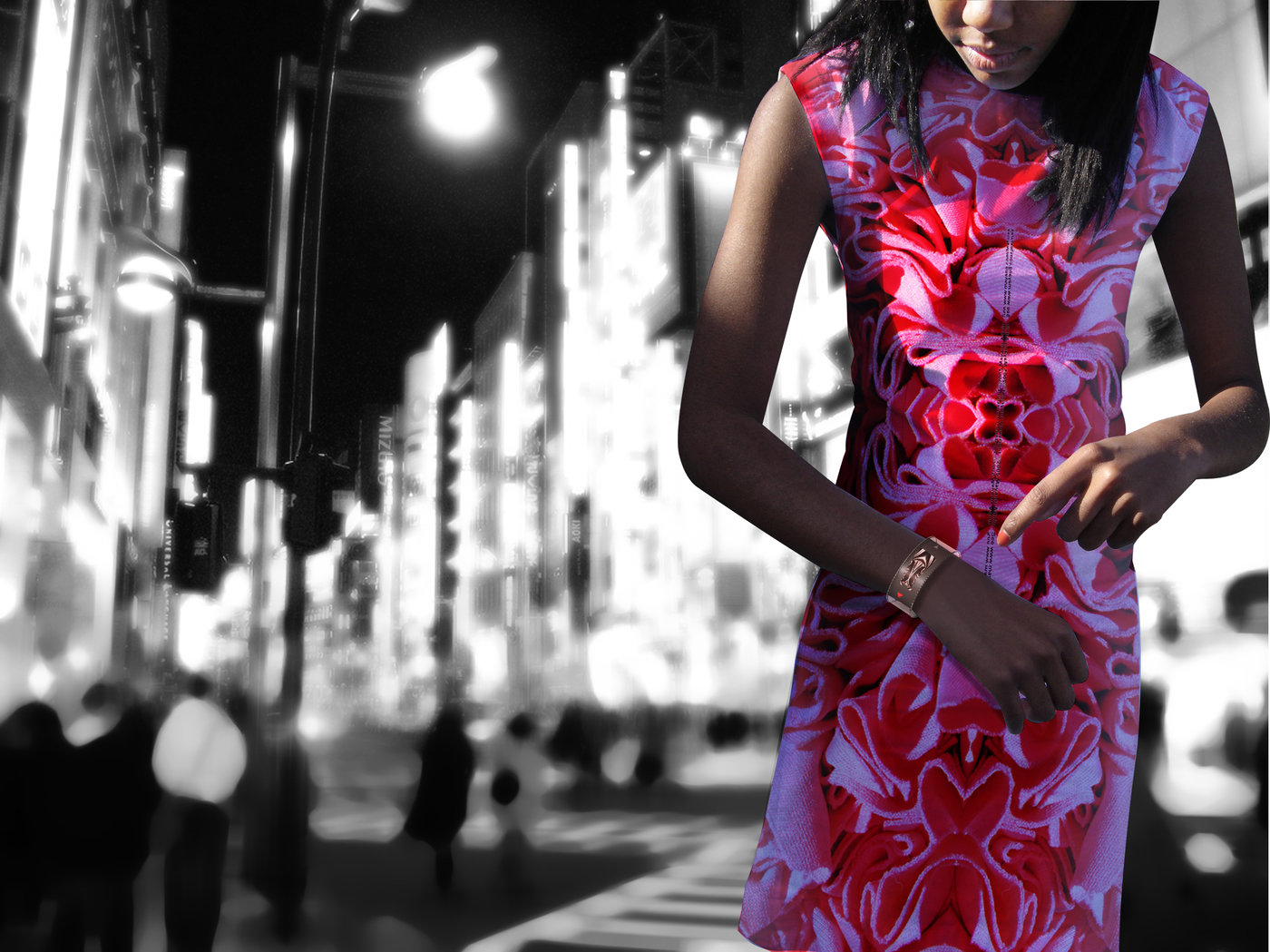 Pattern Changing Clothing by yong hwan Kwon at Coroflot com