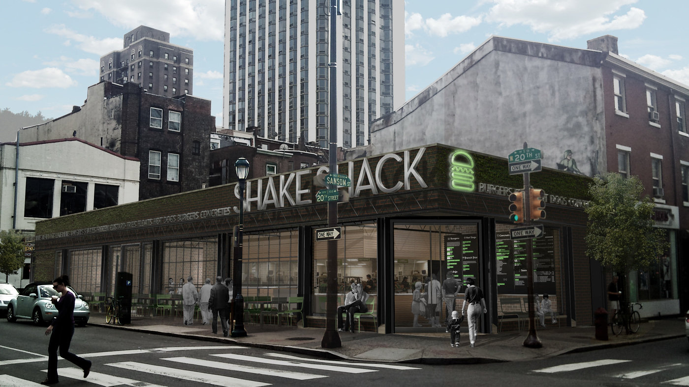 Shake shack philadelphia by frank yt chen at - Interior design jobs philadelphia ...