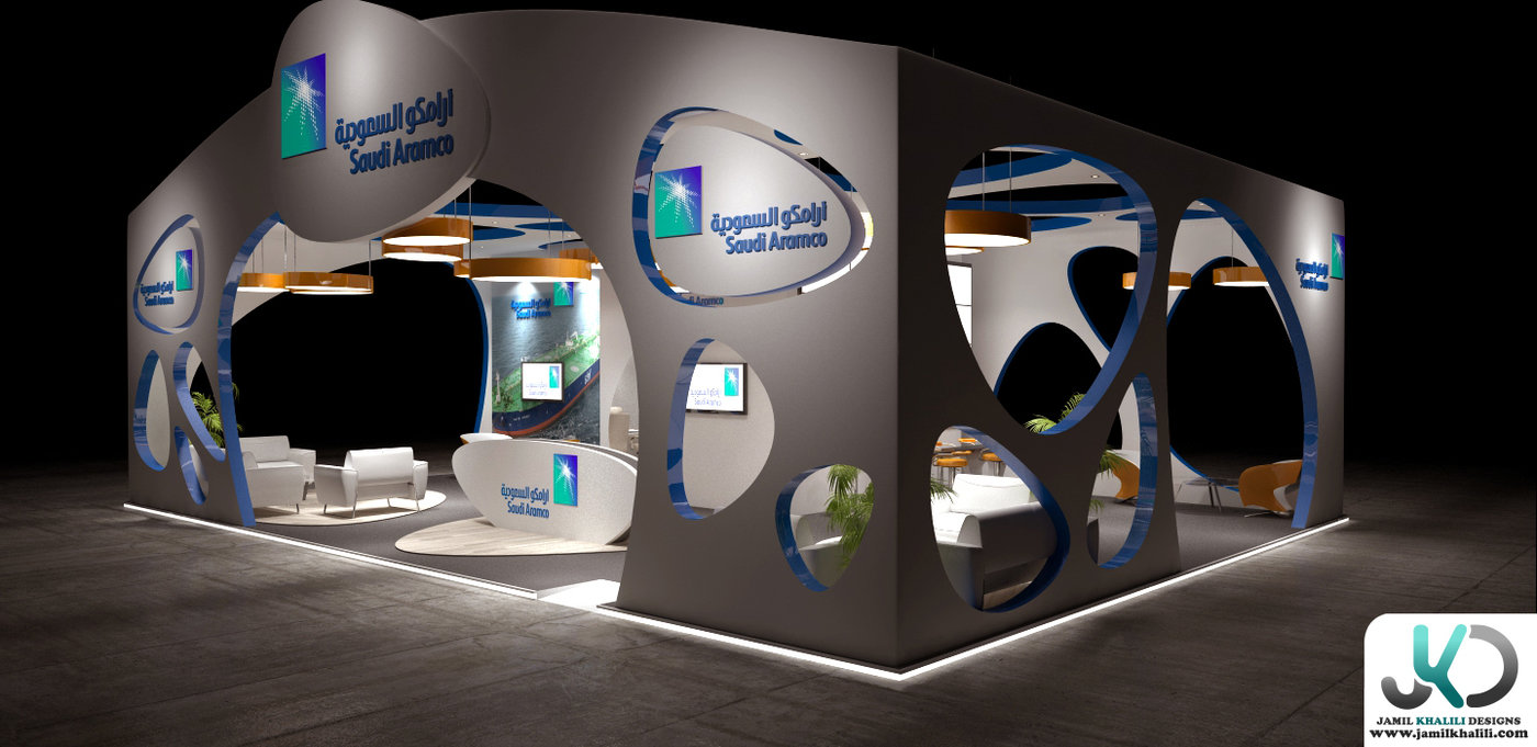 3d Exhibition Stand Design Jobs In Dubai : Aramco d exhibition design concept c by jamil khalili at