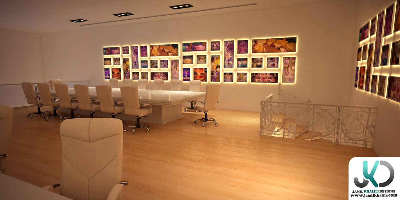 D Exhibition Designer Jobs In Qatar : Signature designs office showroom qatar by jamil khalili at