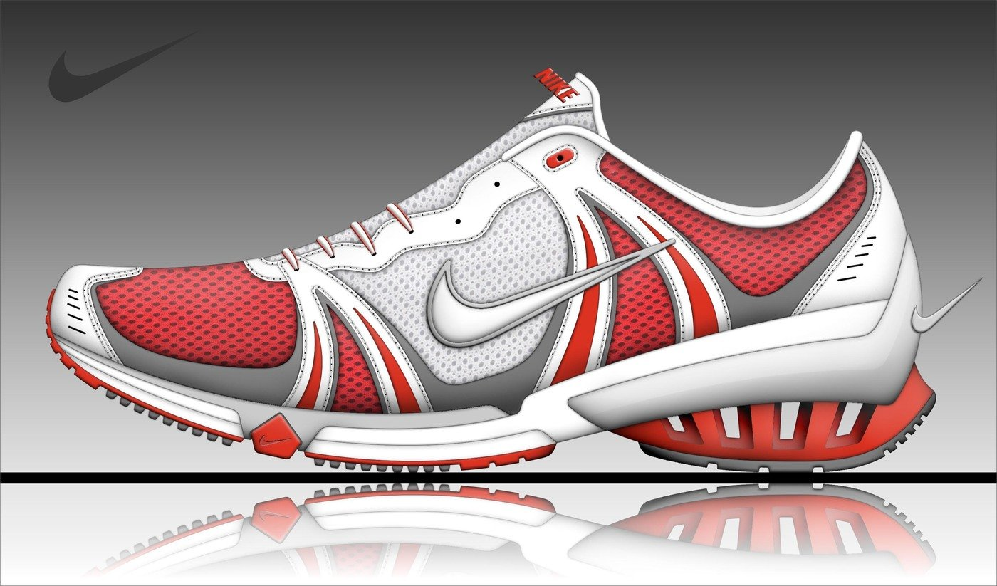 NIKE SHOES 20052007 by RENOIR BAYER at