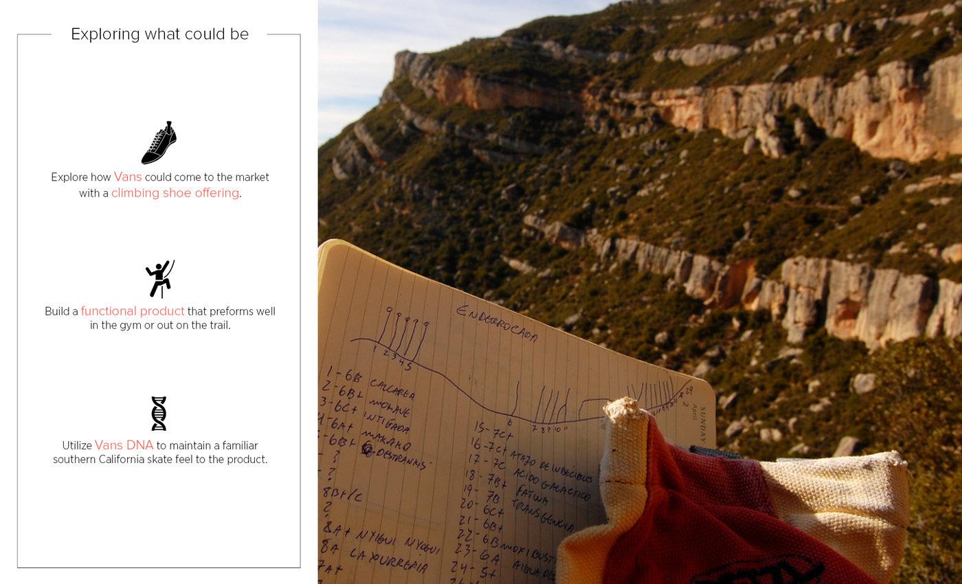 59a29d3ff82122 Vans Rock Climbing Shoe by Matt Smith at Coroflot.com