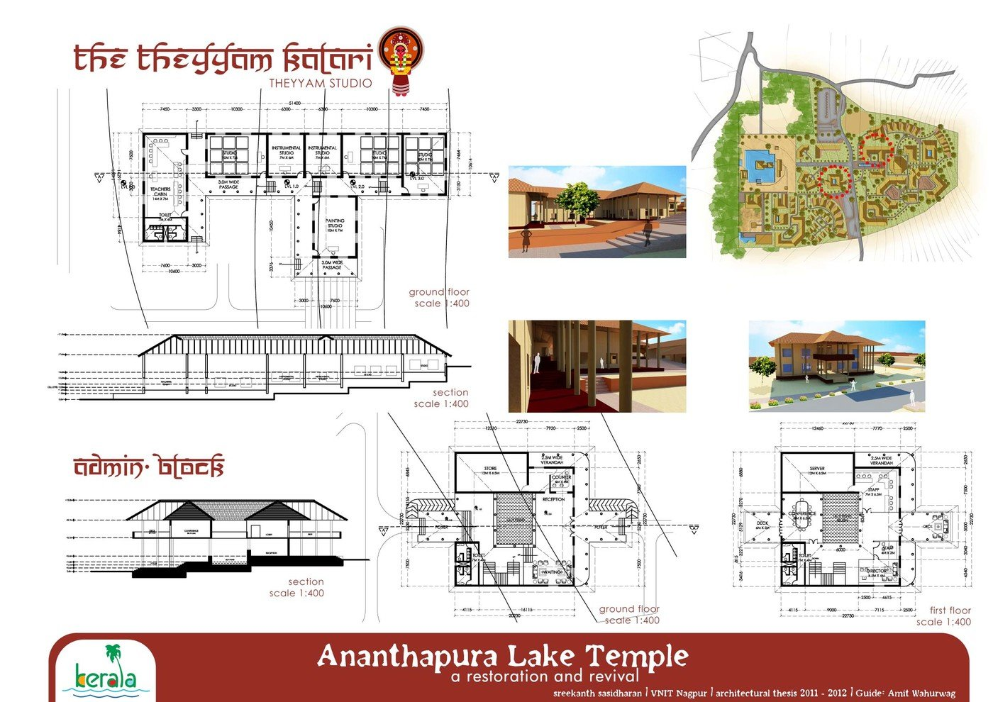 Corridor Design: Thesis: Ananthapuram Lake Temple, Restoration And Revival