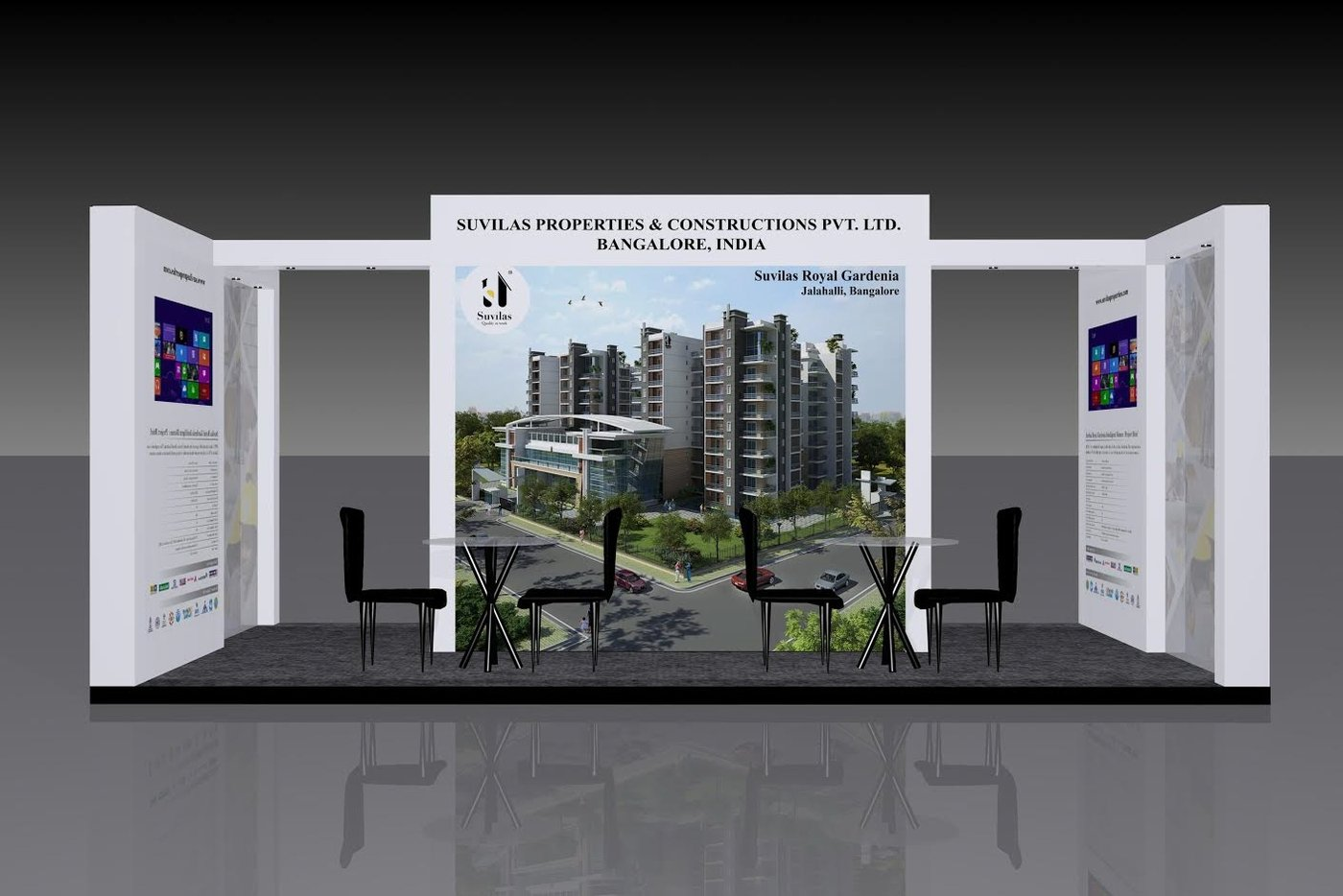 Real Estate Exhibition Stall : Exhibition stall designs by prashanth ap at coroflot