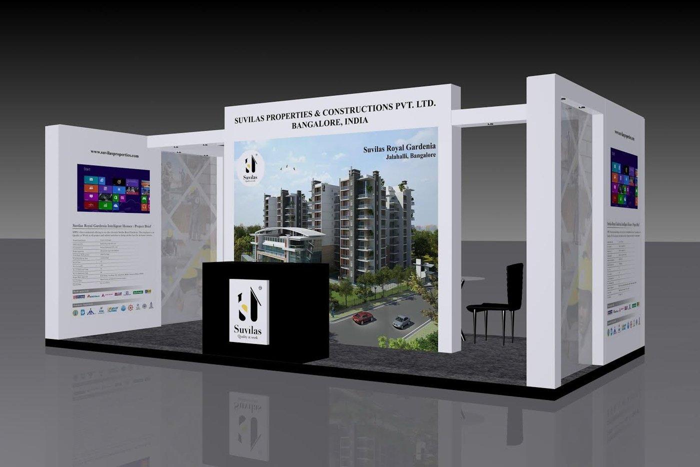 Exhibition Stall Designer Job : Exhibition stall designs by prashanth ap at coroflot