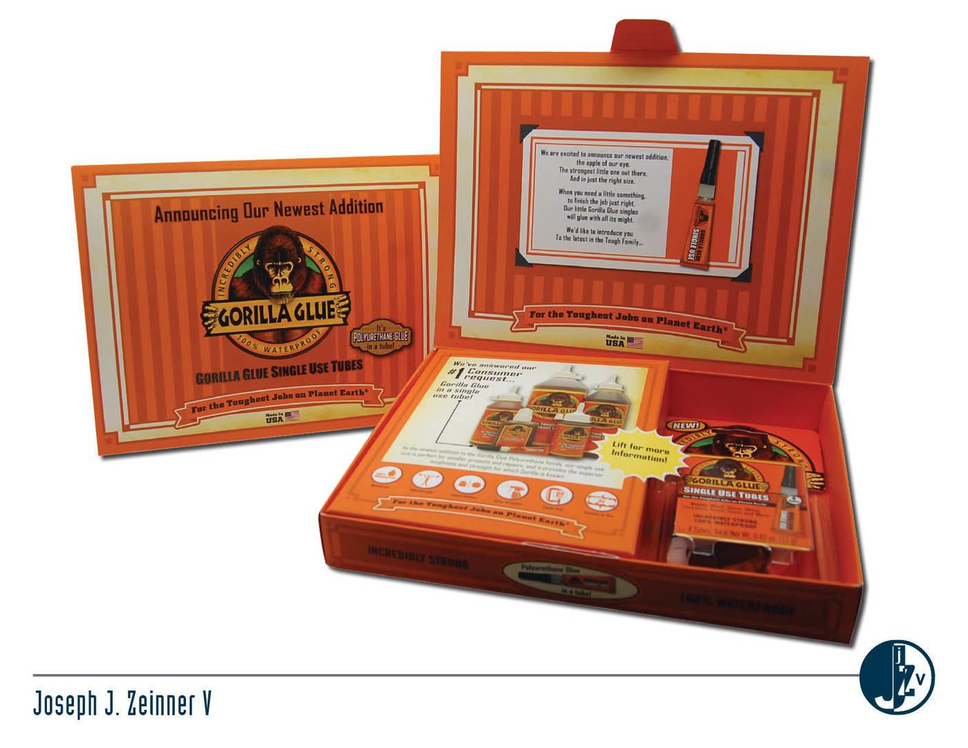 Gorilla Glue Singles Product Launch Kit by Joe Zeinner at