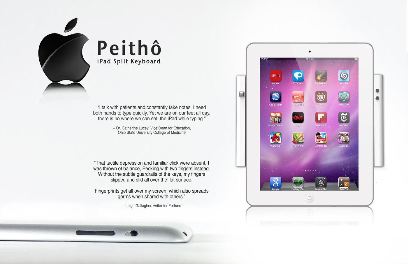 iPad True-Mobile Keyboard by Lucas Van Dyke at Coroflot com
