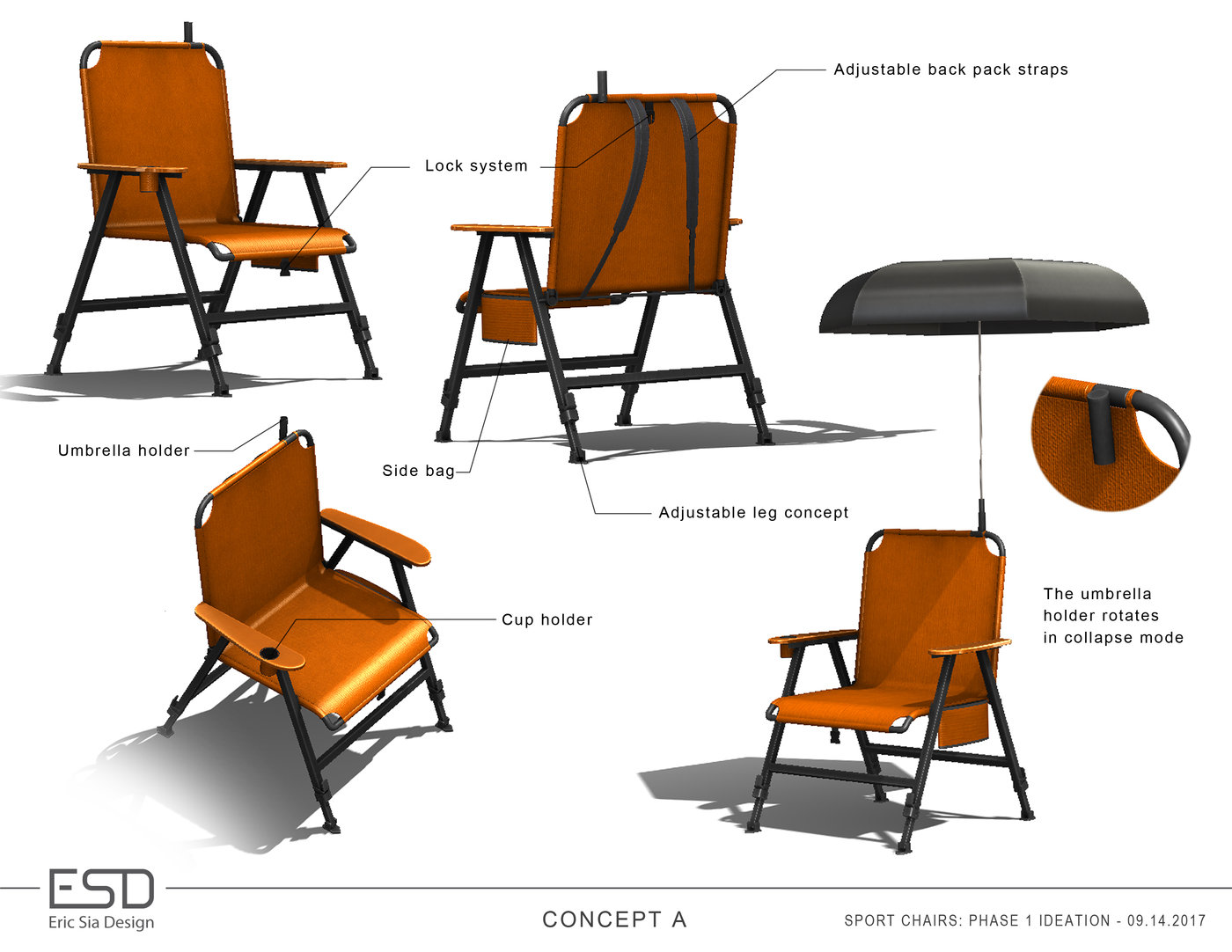 Phenomenal Folding Chairs Concepts By Eric Sia At Coroflot Com Ncnpc Chair Design For Home Ncnpcorg