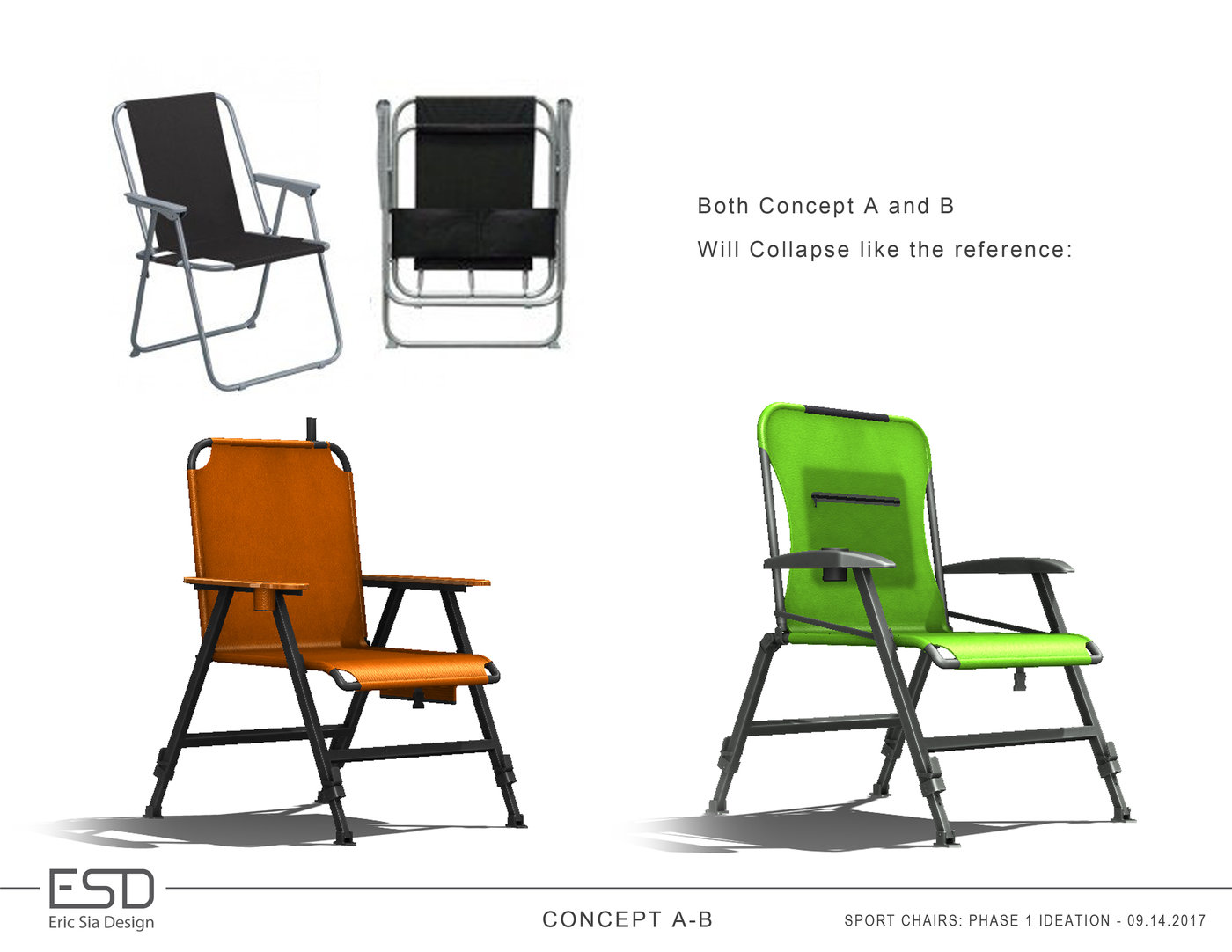 Magnificent Folding Chairs Concepts By Eric Sia At Coroflot Com Ncnpc Chair Design For Home Ncnpcorg