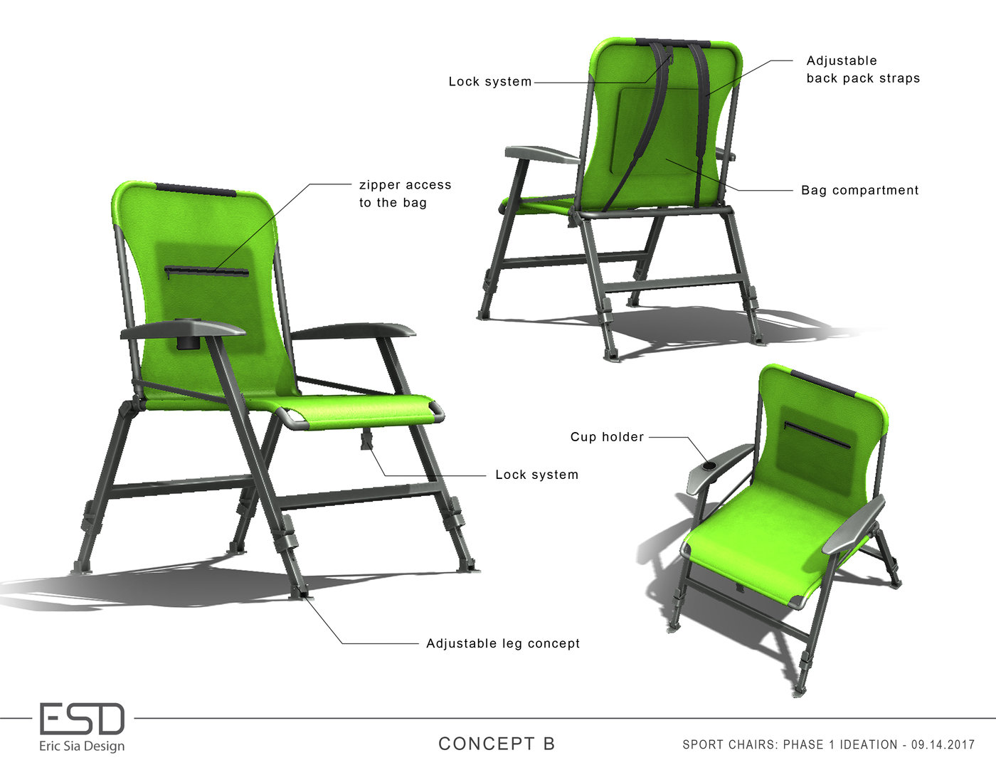 Super Folding Chairs Concepts By Eric Sia At Coroflot Com Ncnpc Chair Design For Home Ncnpcorg