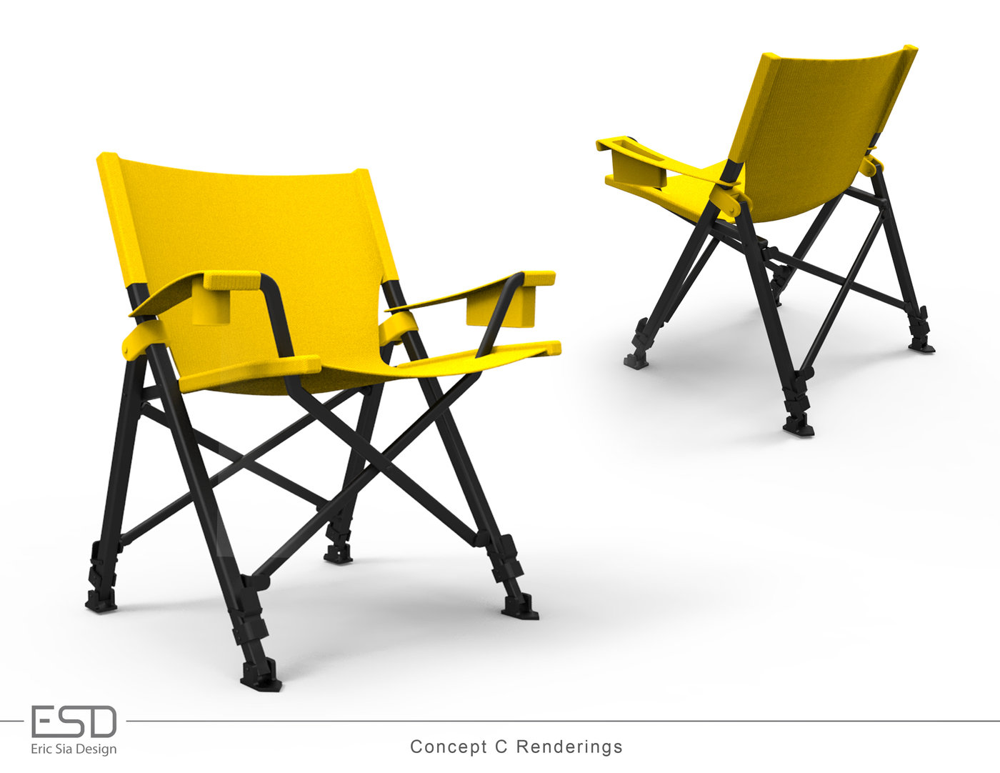 Excellent Folding Chairs Concepts By Eric Sia At Coroflot Com Ncnpc Chair Design For Home Ncnpcorg