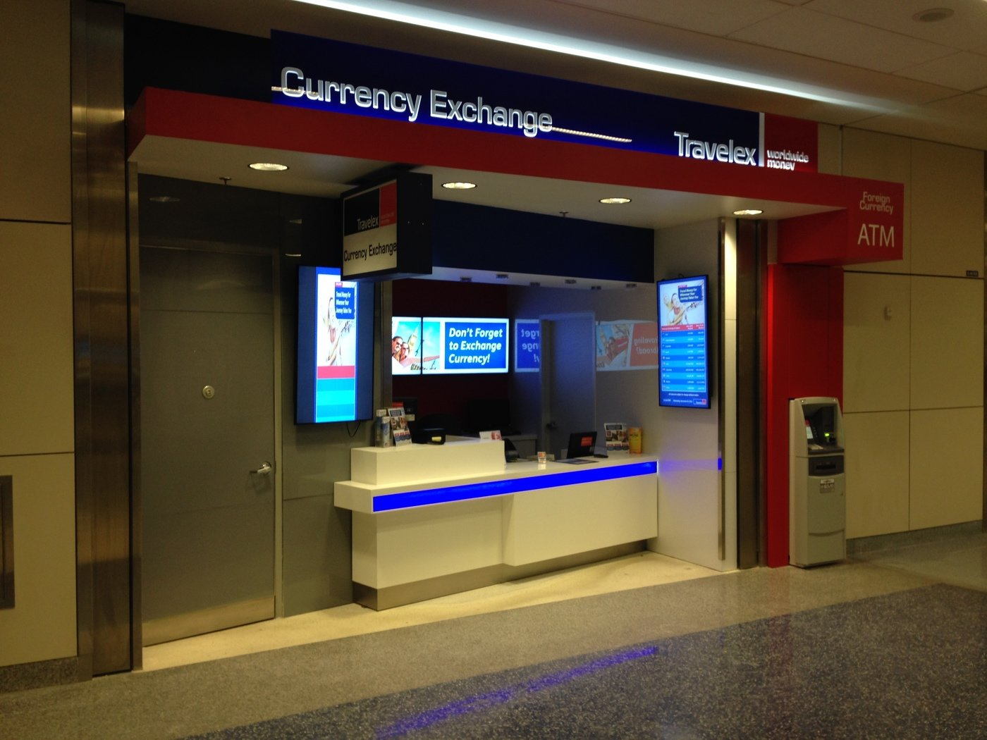 Travelex Currency Exchange by Ian Staples at Coroflot com