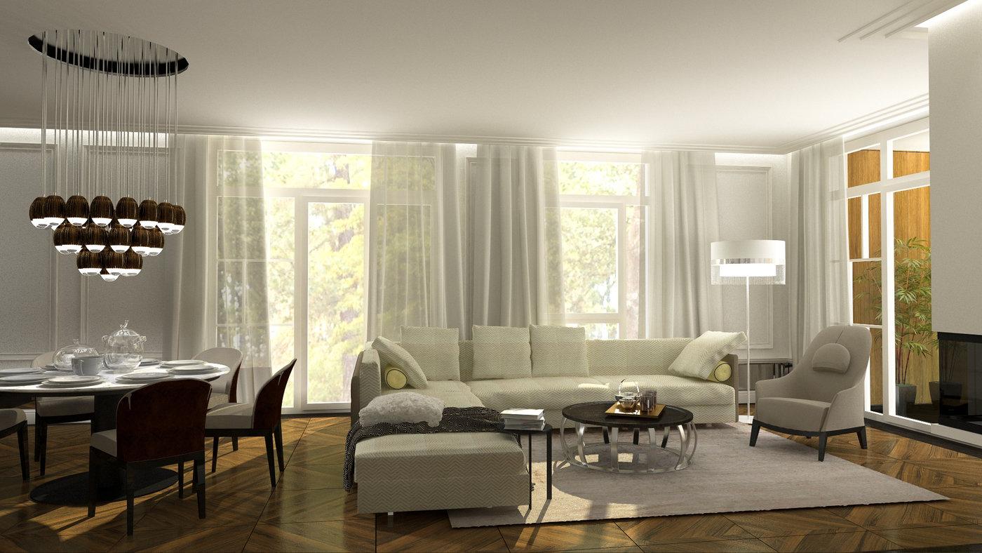 2017 Marlene Trich Apartment Interior Jurmala Latvia By In Dot Architects At Coroflot
