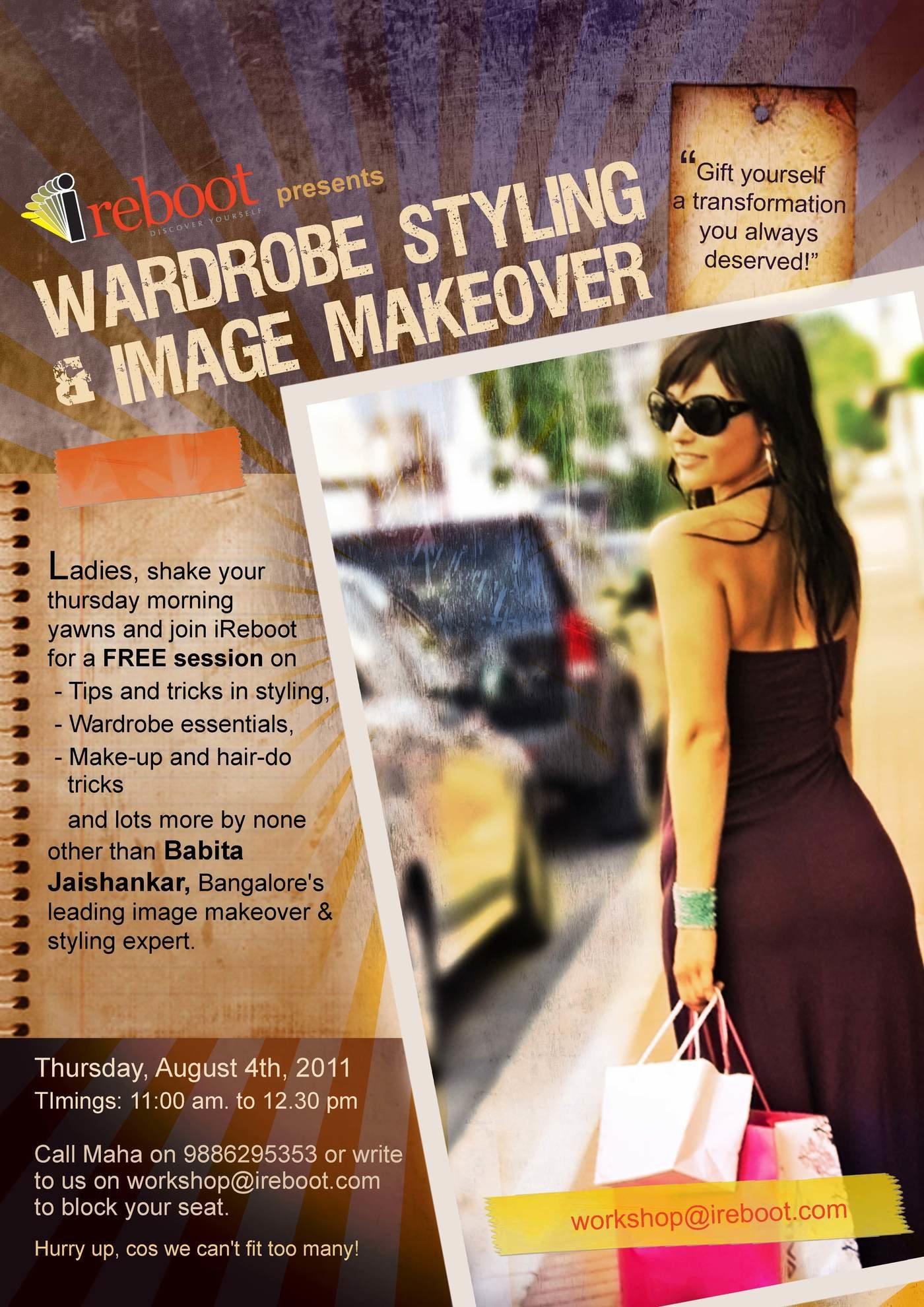 Advertisement by Reshma D'Sa at Coroflot com