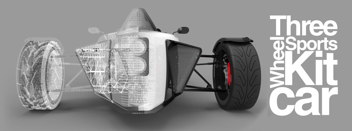 Three Wheel Sports Kit Car By Phil Rogers At Coroflot Com