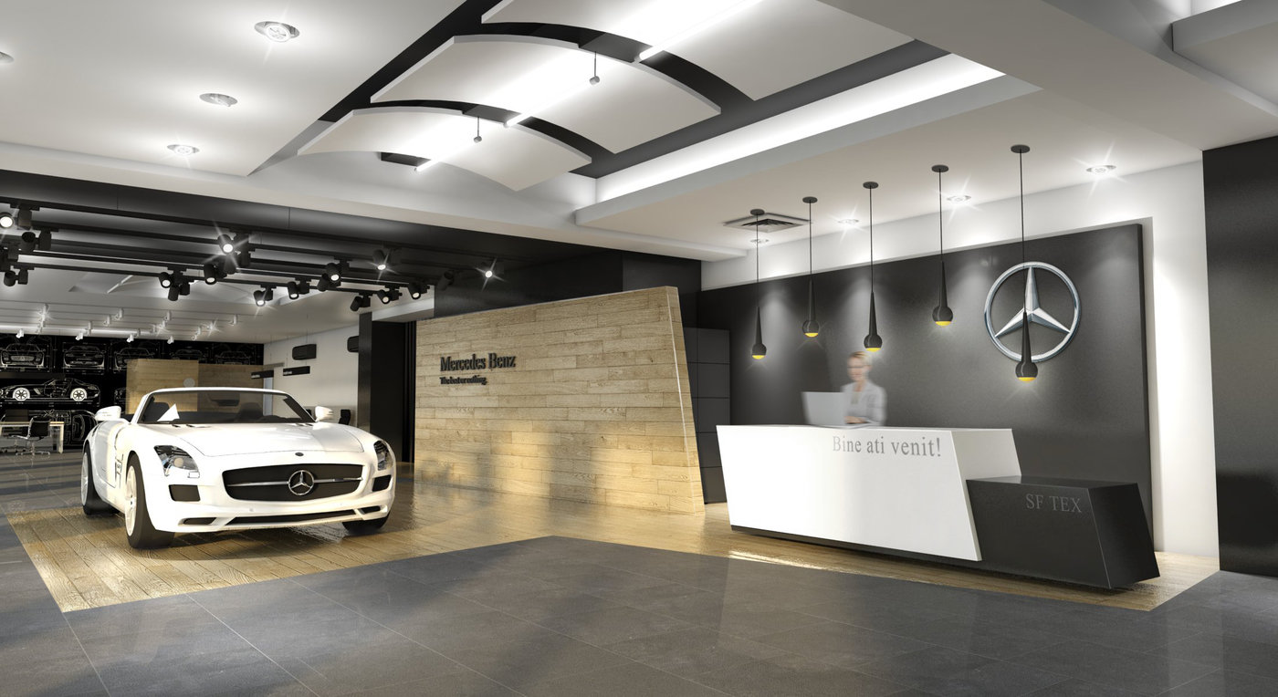 Mercedes Benz Showroom Galati Ro By Alexandru Buzatu At